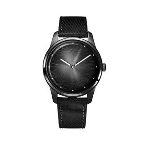 Solar Powered Awake Watch in Moon Black